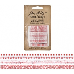 Advantus Tim Holtz Ideaology Tissue Tape: Merriment
