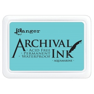 Ranger Archival Ink Pads: Aquamarine