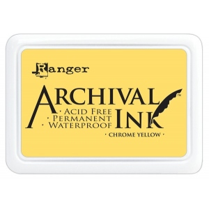 Ranger Archival Ink Pads: Chrome Yellow