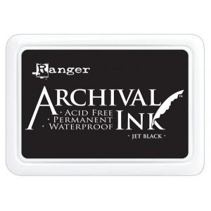 Ranger Archival Ink Pads: Jet Black
