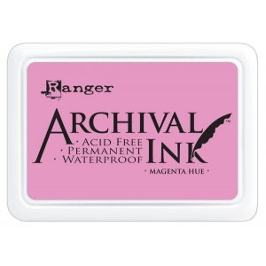 Ranger Archival Ink Pads: Magenta Hue