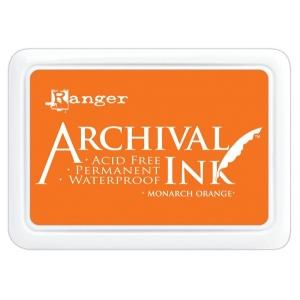 Ranger Archival Ink Pads: Monarch Orange