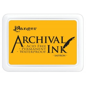 Ranger Archival Ink Pads: Saffron