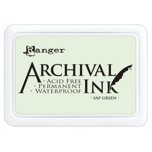 Ranger Archival Ink Pads: Sap Green