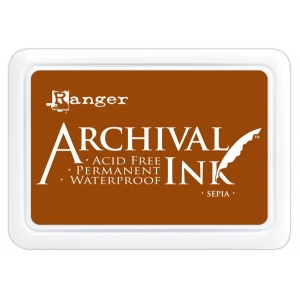 Ranger Archival Ink Pads: Sepia