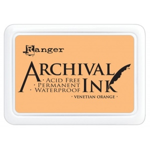 Ranger Archival Ink Pads: Venetian Orange