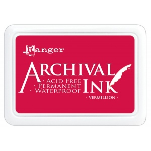 Ranger Archival Ink Pads: Vermillion