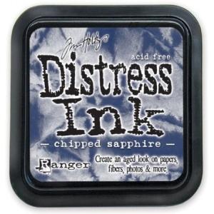 Ranger Distress Pads by Tim Holtz: Chipped Sapphire