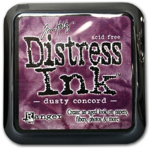 Ranger Distress Pads by Tim Holtz: Dusty Concord