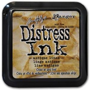 Ranger Distress Pads by Tim Holtz: Antique Linen