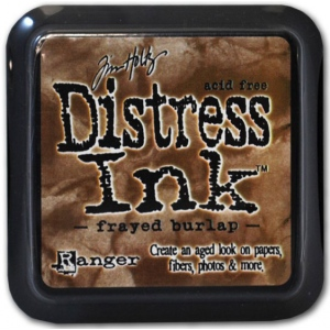 Ranger Distress Pads by Tim Holtz: Frayed Burlap