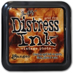 Ranger Distress Pads by Tim Holtz: Vintage Photo