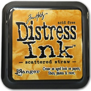 Ranger Distress Pads by Tim Holtz: Scattered Straw