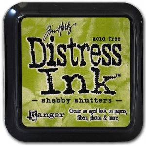 Ranger Distress Pads by Tim Holtz: Shabby Shutters