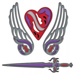 Spellbinders Shapeabilities: Fallen Angel