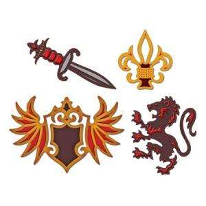 Spellbinders Shapeabilities: Heraldry