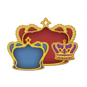 Spellbinders Shapeabilities: Nested Crown