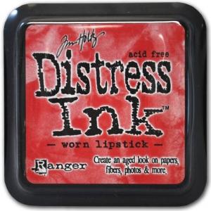 Ranger Distress Pads by Tim Holtz: Worn Lipstick