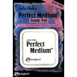 Ranger Perfect Pearls Perfect Medium Stamp Pad: Clear