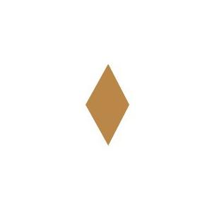 Heidi Swapp Chipboard Shapes Metallic Large Diamonds: Copper
