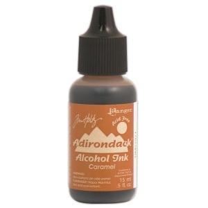 Ranger Tim Holtz Adirondack Alcohol Ink: Open Stock, Caramel
