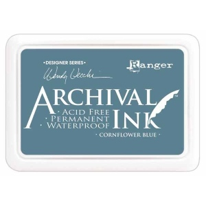 Ranger Wendy Vecchi Archival Ink Pads #0: Cornflower Blue