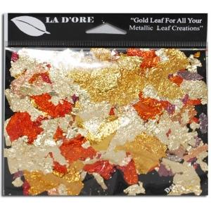 Ladore Designa Flakes Mixed Color Flakes: 1 gm