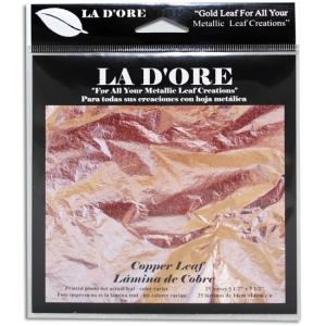 Ladore Gold Leaf Composition Copper: 25ct.
