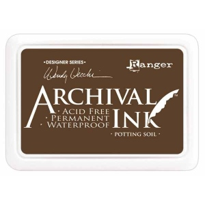 Ranger Wendy Vecchi Archival Ink Pads #0: Potting Soil
