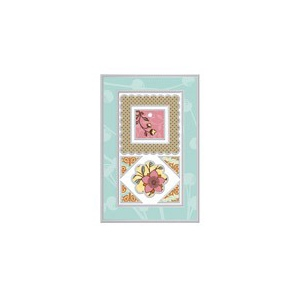 Making Memories Decoupage Metal Frame Combos Chipboard Buttons Frames: Lizzie