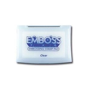 Tsukineko Emboss Inkpads: Clear