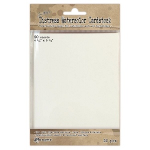 "Ranger Tim Holtz Distress Watercolor Cardstock: 4.25"" x 5.5"""
