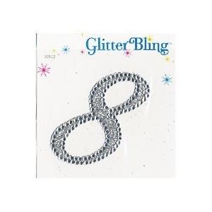 Making Memories Glitter Bling Monogram Script: 8