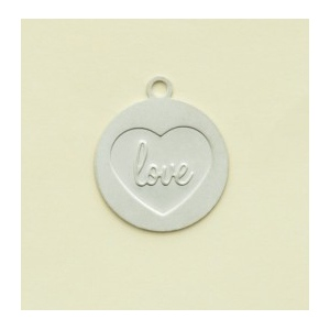 Making Memories With Love Charms Emb Love in Hear Silver Wedding