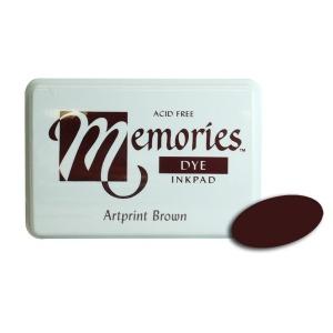 Stewart Superior Memories Dye Ink Pads: Artprint Brown