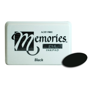 Stewart Superior Memories Dye Ink Pads: Black
