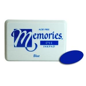 Stewart Superior Memories Dye Ink Pads: Blue