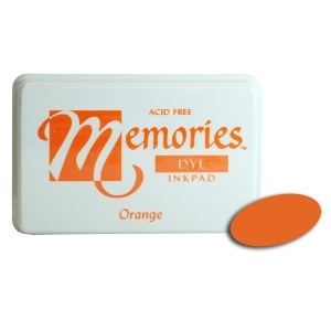 Stewart Superior Memories Dye Ink Pads: Orange