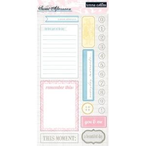 """Teresa Collins Designs Sweet Afternoon Paper: Die Cuts 1, 12"""" x 12"""""""