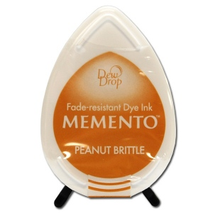 Tsukineko Memento Dew Drop: Peanut Brittle