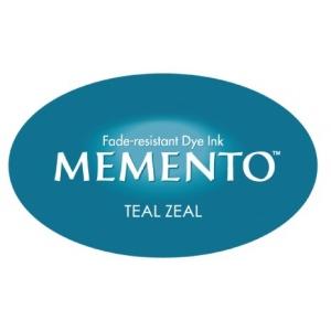 Tsukineko Memento Dew Drop: Teal Zeal
