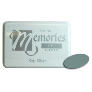 Stewart Superior Memories Dye Ink Pads: Soft Silver