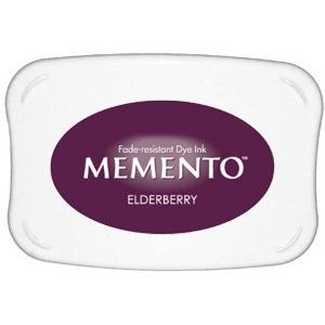 Tsukineko Memento Pad: Elderberry