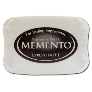 Tsukineko Memento Pad: Espresso Truffle