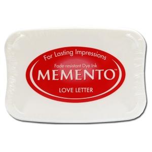 Tsukineko Memento Pad: Love Letter