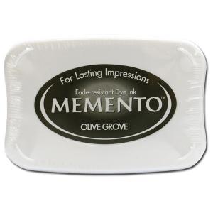 Tsukineko Memento Pad: Olive Grove