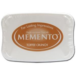 Tsukineko Memento Pad: Toffee Crunch