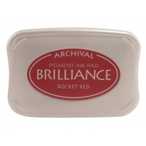 Tsukineko Brilliance Pads: Rocket Red