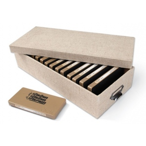 Sizzix Accessory: Sizzlits Decorative Strip / On the Edge Die Storage Box Inspired by Tim Holtz