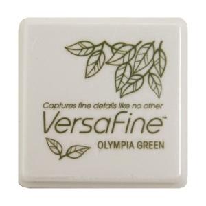 Tsukineko VersaFine 1 in Cube Pads: Olympia Green